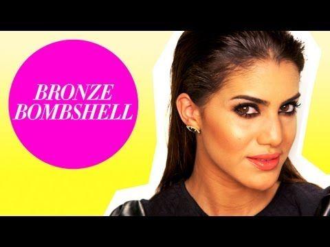 Bronze Bombshell Makeup and Hair Tutorial - Beauty Pop! with Camila Coelho - YouTube