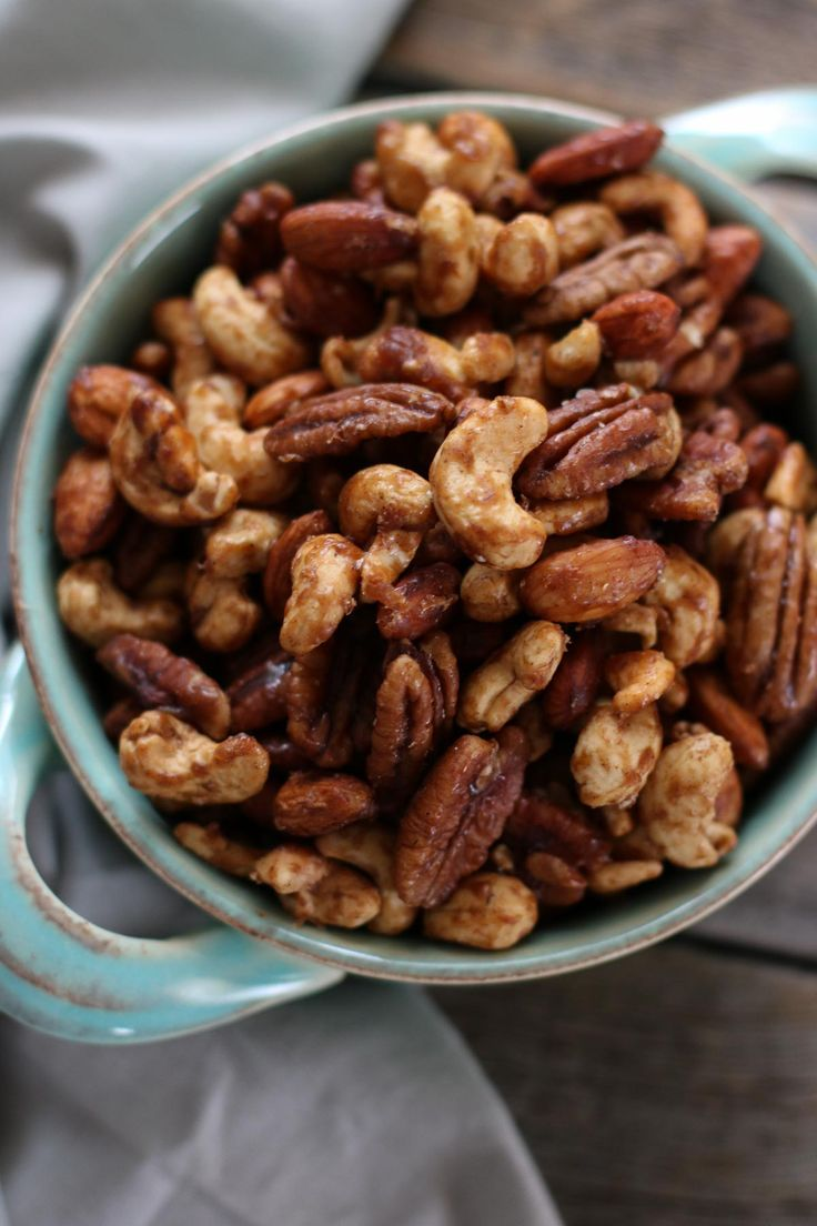 Slow Cooker Spiced Nuts   The Real Food Dietitians   http://therealfoodrds.com/slow-cooker-spiced-nuts/