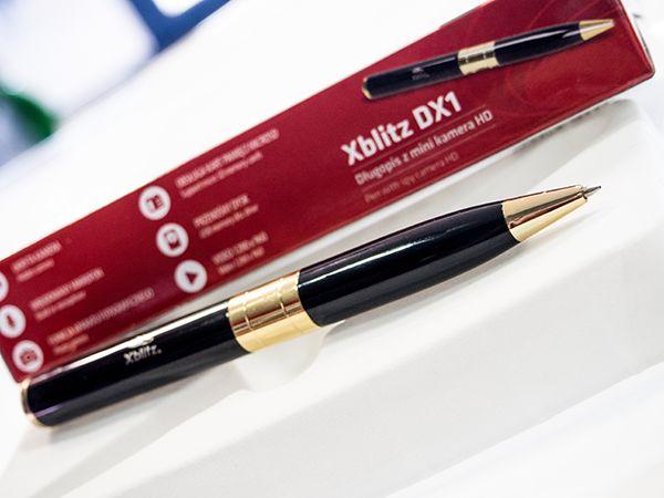 Długopis szpiegowski kamera HD dyktafon Xblitz DX1