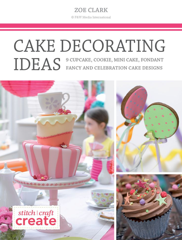 Cake Decorating Tips Book : 17 Best ideas about Cake Decorating Books on Pinterest Creative colour, Creative cakes and Fondant