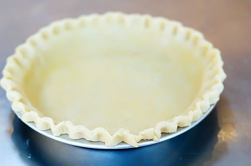 PERFECT pie crust! This is the Pioneer Woman recipe. The secret ingredient is vinegar - which makes the BEST, and FLAKIEST pie crust.