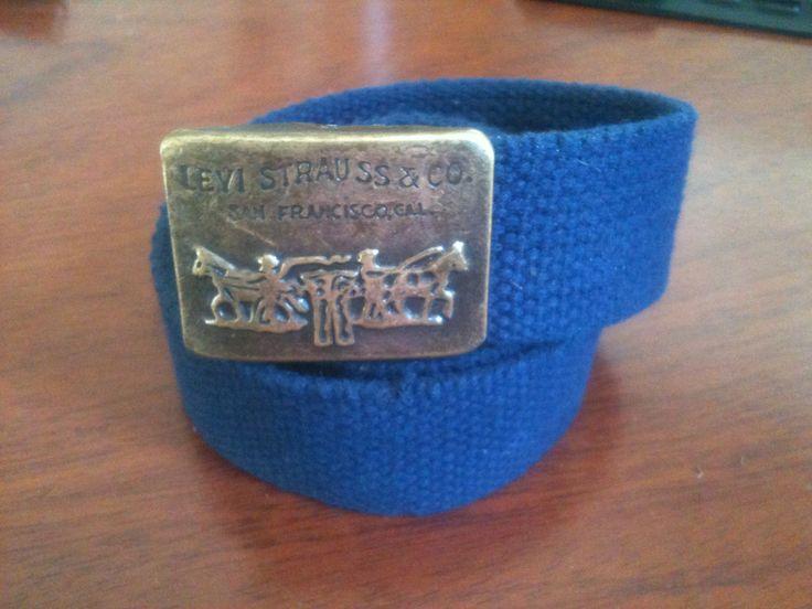 Levi's belt...