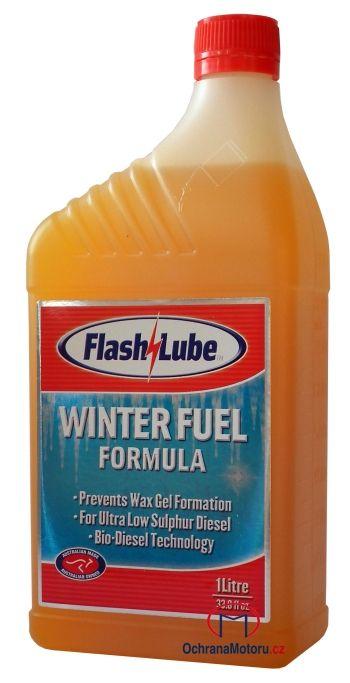 1 litr zimního dieselového aditiva proti zamrznutí Flashlube Winter Fuel Formula