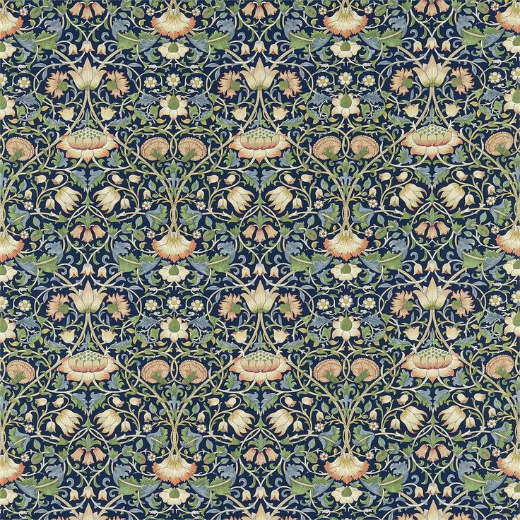 The Original Morris & Co - Arts and crafts, fabrics and wallpaper designs by William Morris & Company | Products | British/UK Fabrics and Wallpapers | Lodden (DARP222521) | Archive II Prints