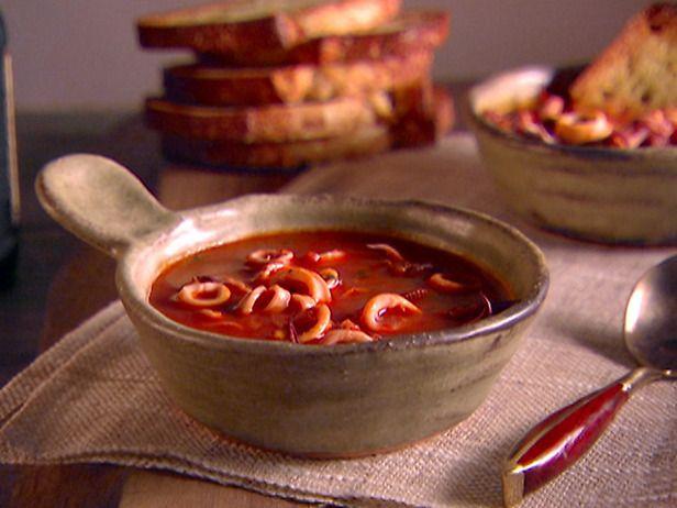 Calamari Stew with Garlic Toast by Giada De Laurentis: Easy!