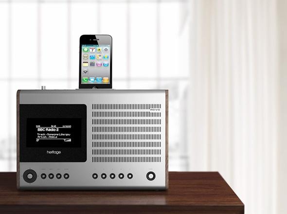 Revo Heritage iPhone Dock £249.95