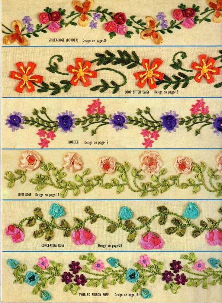 1000 Images About Needlework Silk Ribbon Amp Stumpwork