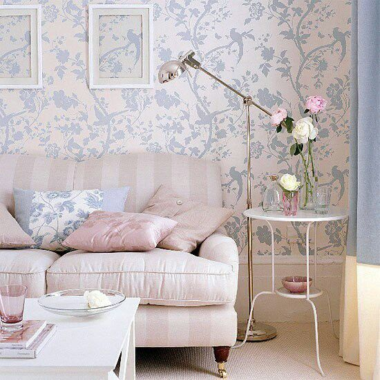 Laura ashley wallpaper wonderful wallpaper paper for Living room paper