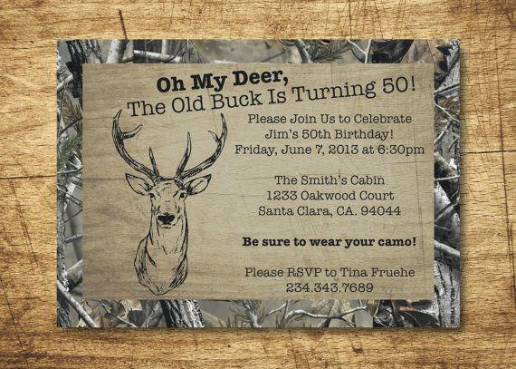 best 25+ camo birthday ideas on pinterest   camo birthday party, Birthday invitations