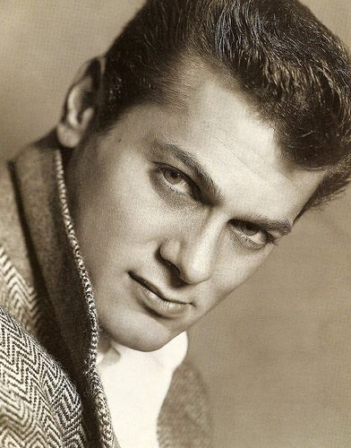 Tony Curtis . As a child I had the biggest crush on him in the old movie classics.