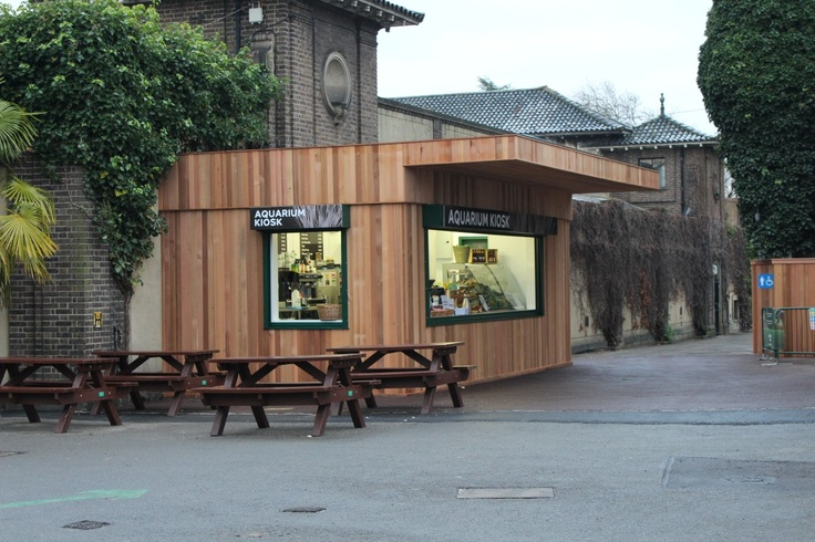 Maybe you've eaten from one of our latest Food Cube installations, a concession at London Zoo.