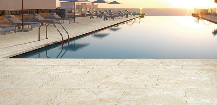 Divine Renovations Outdoor Tiles #Ambertiles #Urban #Surface #Collection #Outdoor #Tiles #Creams