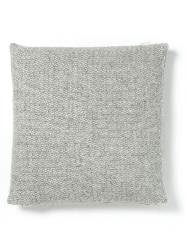 Soft Wool Cushion - Grey - Luxury Cushions - Home Textiles