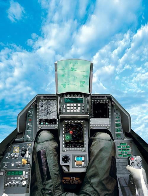 F-16 cockpit - can hardly imagine how exhilarating it must be