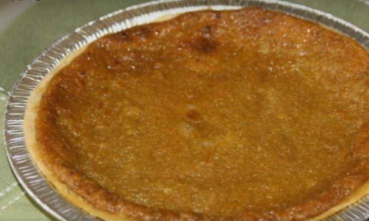Une tarte au sucre et sirop d'érable faite de 3 ingrédients... Wow, une recette qui arrive juste au bon moment.
