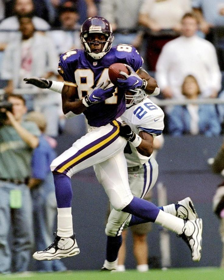 Randy Moss-Thanksgiving 1998-Minnesota Vikings  ba8228886