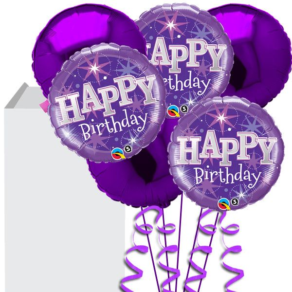 happy birthday auntie wendy images in purple
