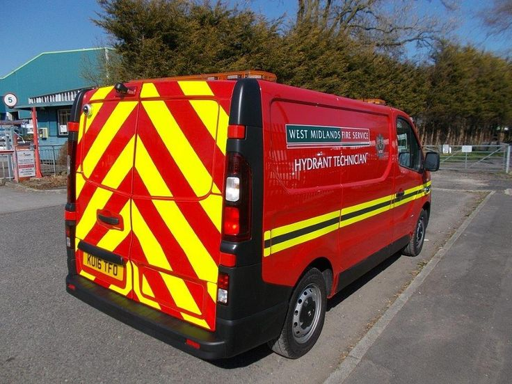 Fire Hydrant Technician vehicle for West Midlands Fire Service