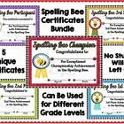 Students love receiving certificates!  Included in this set you will find 5 unique and colorful Spelling Bee Award Certificates: 1 of each ~ Champi...