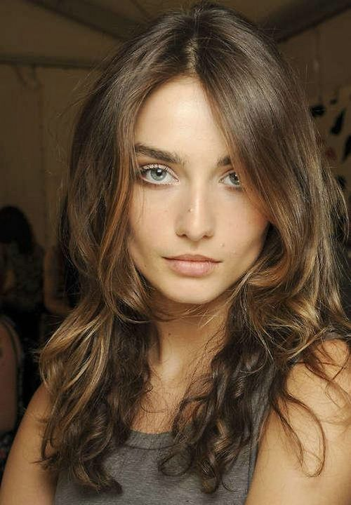 Medium Brown Hair Color Ideas