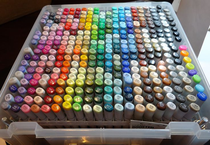 i want these Artistic Pinterest Markers, Copic and