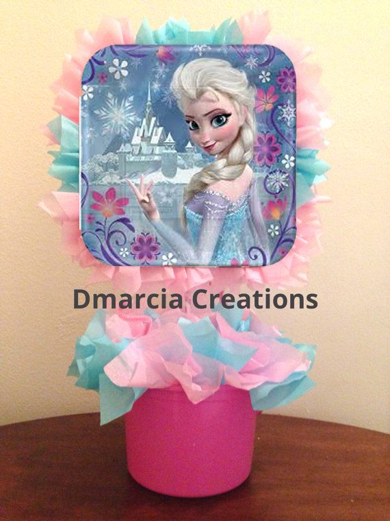 Disney Frozen Centerpiece table decoration by DMarciaCreations