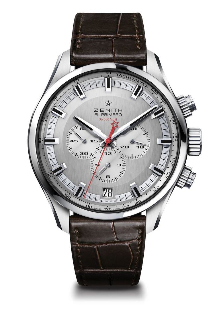 """Zenith El Primero Sport Watch - by James Stacey - see more now: http://www.ablogtowatch.com/zenith-el-primero-sport-watch/ """"It's open season for Baselworld 2015 releases and Zenith has joined the chorus with a new chronograph simply called the Zenith El Primero Sport. Sporting (sorry) a recognizable Zenith design language and a large steel case, the Zenith El Primero Sport looks like a no-nonsense automatic chronograph from one of oldest names in the game..."""""""