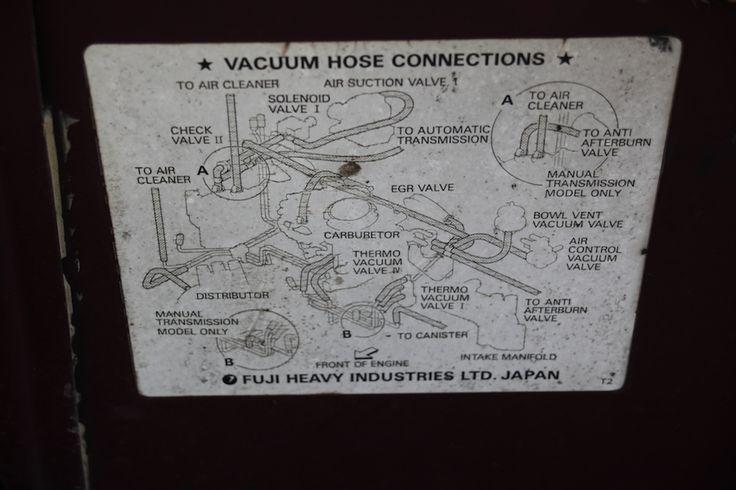 Cadillac Vacuum Diagram