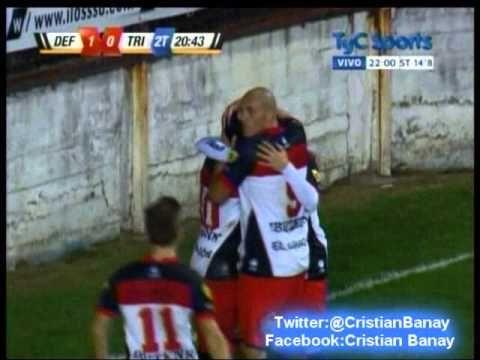 Defensores 1 Tristan Suarez 0 (Relato Cristian Pasquale)  Primera B Metr...