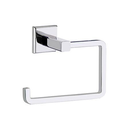 Cooke & Lewis Linear Chrome Effect Toilet Roll Holder, (W)140mm   Departments   DIY at B&Q