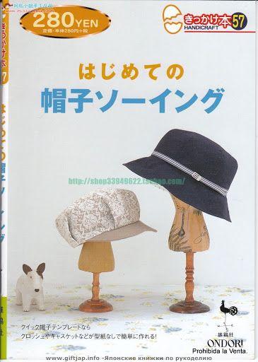Sombreros y Gorras. (japonés) - CoseConmigo - Album Web Picasa