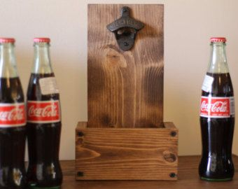 This Rustic Wall Bottle Opener $35