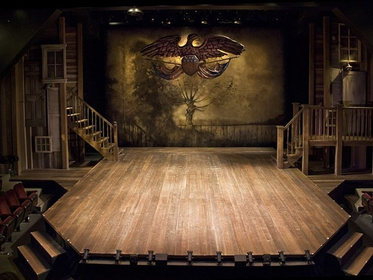 Jason Robert Brown's Parade at the Cygnet Theatre, Old Town, San Diego, Directed by Sean Murray, Set Design by Sean Fanning