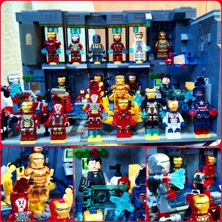 Lego Iron Man custom lab #lego #ironman