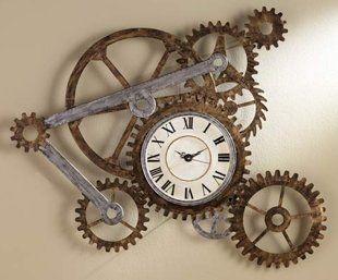 cog clock to represent my Duncan