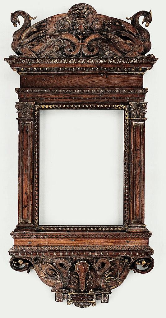 Tabernacle frame, 1530. Italian. Walnut. MOMA.