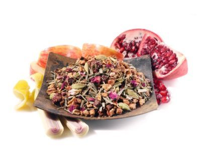 Apple Lemon Pomegranate Rooibos Tea. gahhh just want to try it so much