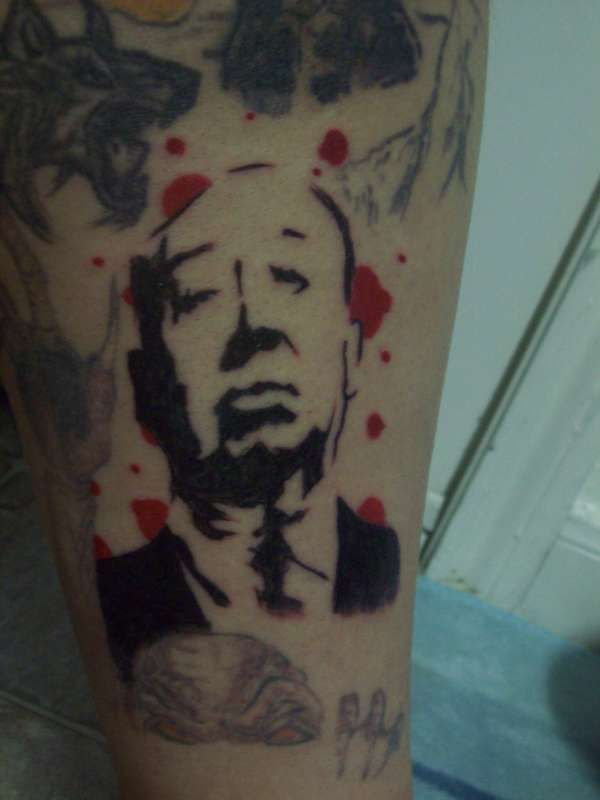 Alfred Hitchcock Tattoo Tattoos Pinterest Alfred Hitchcock - 600x800 ...