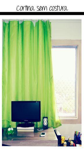 Como fazer cortinas sem máquina de costura