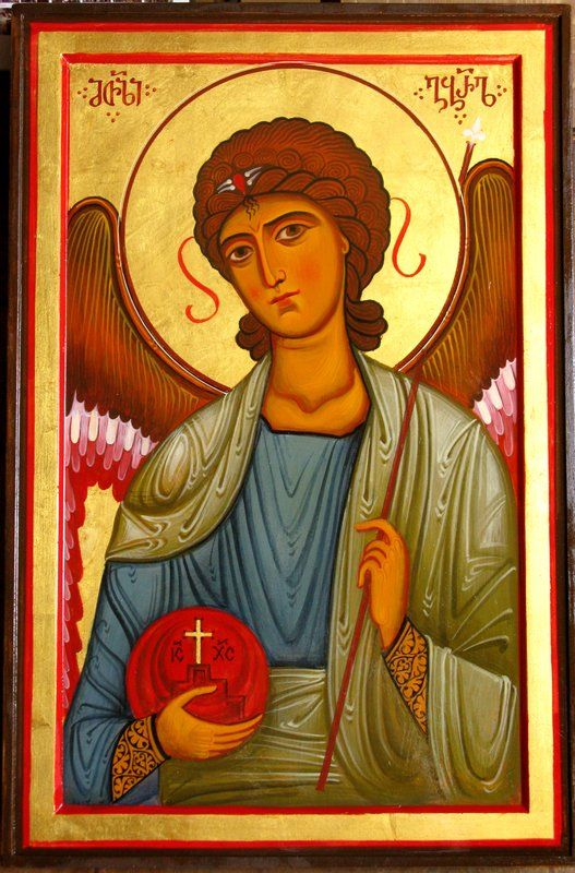 Archangel Gabriel- contemporary Georgian icon