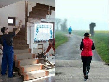 Chodzenie po schodach  energicznym krokiem jest wysiłkiem. Podczas wspinaczki na stopnie spalamy więcej kalorii na minutę niż w czasie joggingu.  #sport #fit #fitness #spalaniekalorii #schodymika #schody #schodydrewniane #stairs #wooden #woodworking #woodenproducts