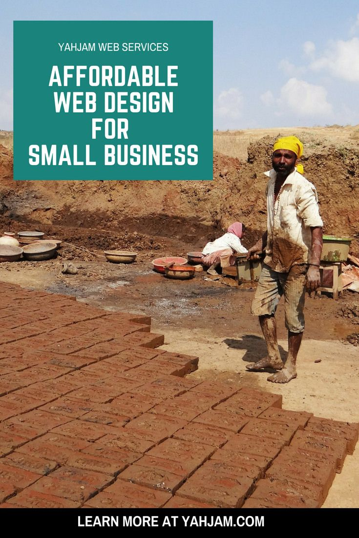 Affordable Web Design for Small Business Pinterest