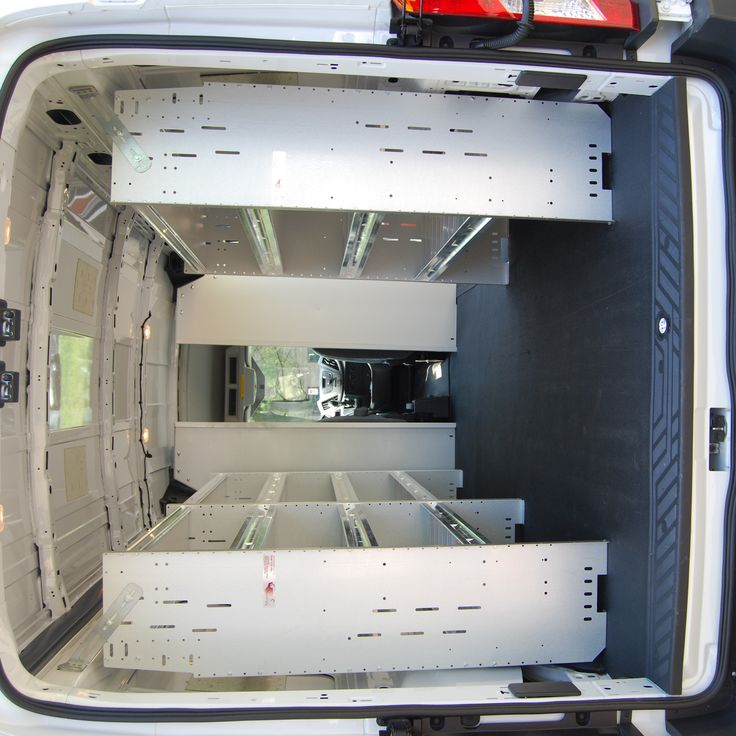 Van shelving and interiors | Ladder rack for vans