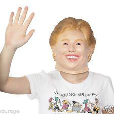 Presidential election Support Hillary Clinton Mask Politician Halloween Droiyan