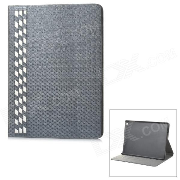 Color: Silver Grey + White; Model: IP50; Quantity: 1 Piece; Material: PU + PC; Shade Of Color: Silver; Compatible Models: IPAD air; Inner Size: 24 x 17 cm; Other Features: Hand-weaved exterior appearance; Soft and stylish; Protect your device from scratches, dust and shock; Packing List: 1 x Protective case; http://j.mp/1ljQYMi