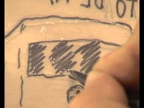 Vídeo tutorial sobre cómo estampar una punta seca. Curso de grabado de EducaThyssen
