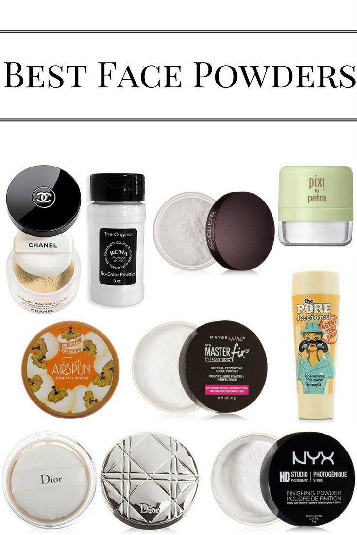 Best Loose Face Powders – Silly Crazy Mama