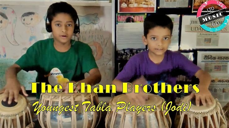 """""""When the #KHAN #BROTHERS come out to play :) """" says #localturnon  The Khan Brothers (sons of Shri Shariq Khan Ji) from Udaipur are the youngest #Tabla #Players (Jodi) in the world and can play synchronized 6 tabla sets in unison. Sharing some moments of their jugalbandi :)  #Localturnon wishes that their fingers continue to create magic in the times to come !  #turn #ON #Music 