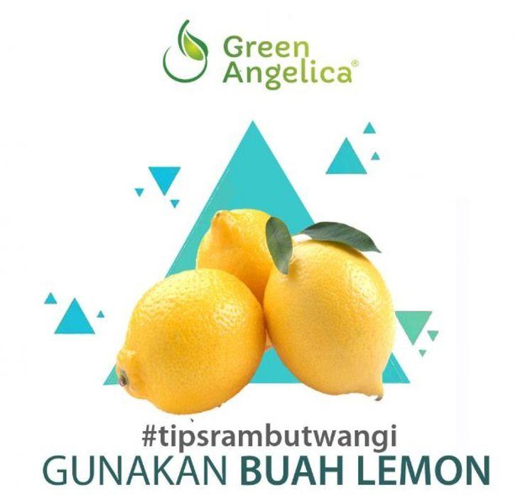 Selain #bungamawar kamu juga bisa pakai lemon untuk #parfumrambut alami. . #Lemon memiliki aroma alami jeruk yang dapat digunakan untuk #mengharumkanrambut. Jus lemon sangat efektif dalam menyingkirkan ketombe lho. Ratakan jus lemon ke seluruh rambut. Diamkan dan kemudian cuci dengan sampo. . ============= . Simple banget kan cara untuk mendapatkan rambut wangi setiap hari tunggu #tipsrambut lainnya dari #greenangelica