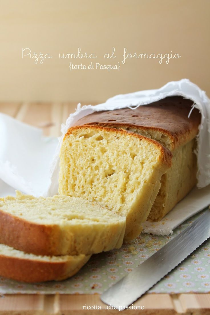 Umbrian Easter Cake  (this has a pizza w/baked in cheese texture & flavor)...recipe